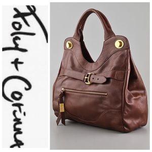 💕SALE💕 Foley + Corinna Pebbled Leather Bag